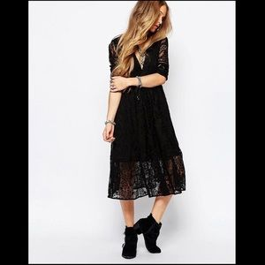 NWT Free People Mountain Laurel lace dress size 6
